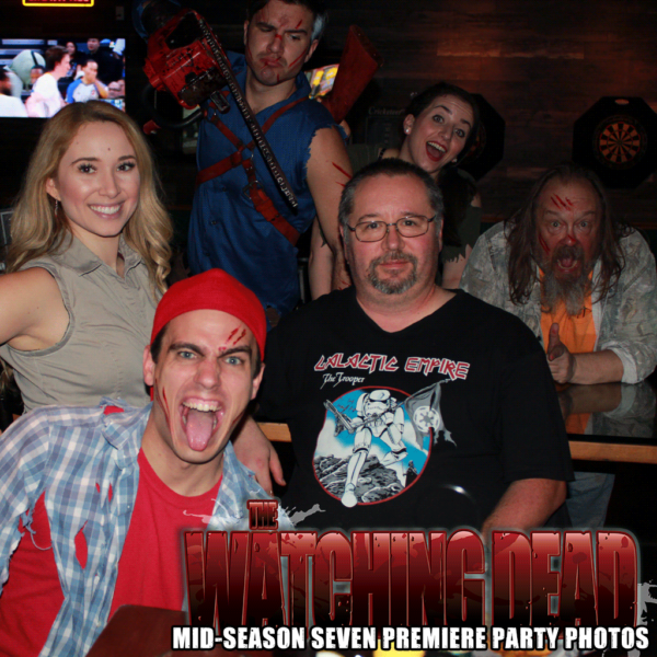 The Watching Dead Mid-Season Seven Premiere Party Photos